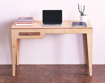Desk/ Minimalist desk/Wood desk