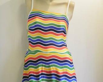 1960s MISS JANTZEN One-Piece Swimsuit