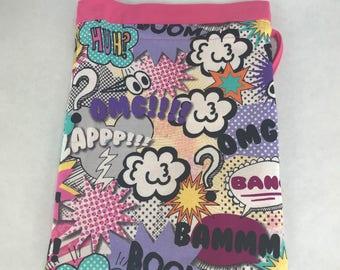 Girl Power - Knitting, Crochet or Fiber-work Project Bag