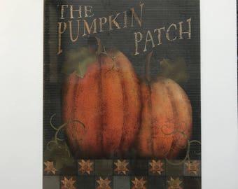 Primitive Fall Sign   Pumpkin Patch Sign   Wreath Sign   Wreath Attachment