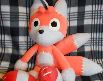 Tails Doll plushie (Sonic X / R / Adventure) 40 cm high MINKY VERSION
