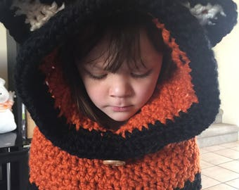 Fox Cowl (crochet)