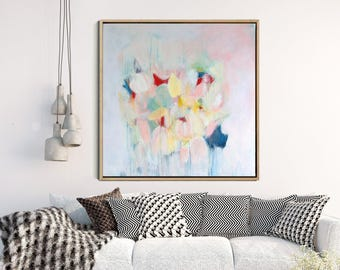 Floral Abstract Art Print, Abstract Giclee Print, Modern Art Abstract, Floral Abstract, Wall Decor, Wall Art