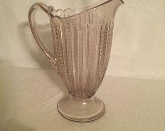 Antique water pitcher