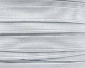 6 mm white elastic Ribbon