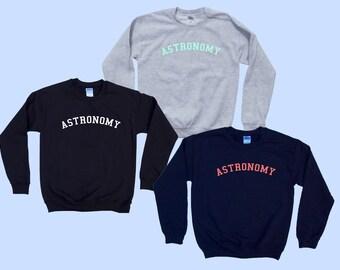 ASTRONOMY - Crewneck Sweatshirt