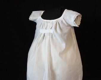 Civil War Childs Chemise upto a size 8 (Custom made to childs measurement)