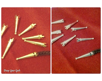 10 Aglets (Silver/Gold)
