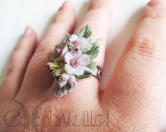 Sweets and flowers - ring