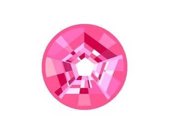 Steven Universe: Crystal Gems [Rose Quartz] Pin