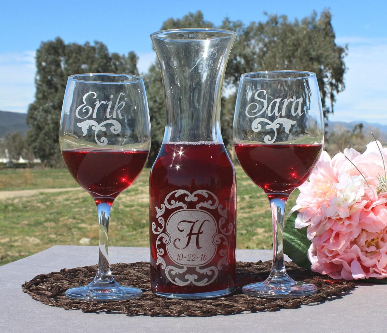 Personalized Wedding Ceremony Ideas: Wedding Ceremony Wine Unity Set Unity Ceremony Unity Candle