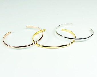 Rose Gold Cuff Bracelet, Rose gold Bracelet, Cuff Bracelets, Gold Cuff Bracelets, Gold Bracelets, Gold Cuff, Bridal Cuff, Silver Cuff, Gift