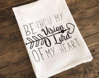 Be Thou my Vision Tea Towel