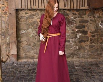 Burgschneider Medieval Viking Cotton Dress Cilie