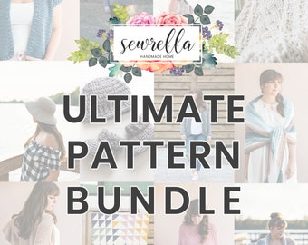 Ultimate Crochet 100+ PATTERN BUNDLE from Sewrella!