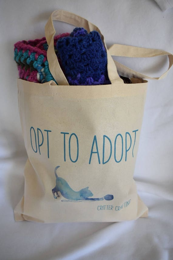 Opt to Adopt Tote