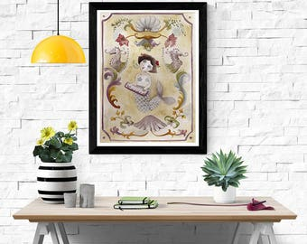 Siren Song - Art Print