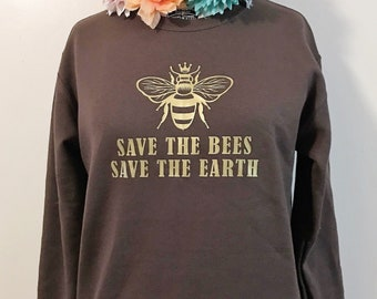 Save the Bees Crewneck Sweatshirt
