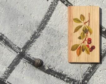 Wooden Print - Cherry | Wood | Print | Wall Art | Decor | Natural Prints | Surf Art