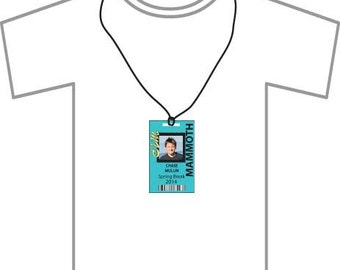 Create your own VIP or Season Pass T-shirt - Ski Pass - Concert All Area Access Pass