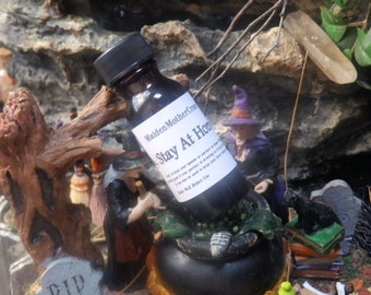 Stay Home Oil Wicca Pagan Spirituality Religion Ceremonies Hoodoo Metaphysical MaidenMotherCrone