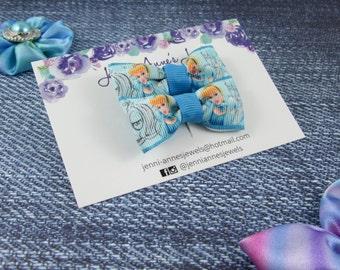 Bow Tie Hair Clip - Set of 2 - Cinderella