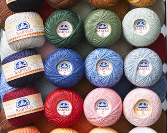 DMC Crochet Babylo Fine cotton Yarn 50g size No.10