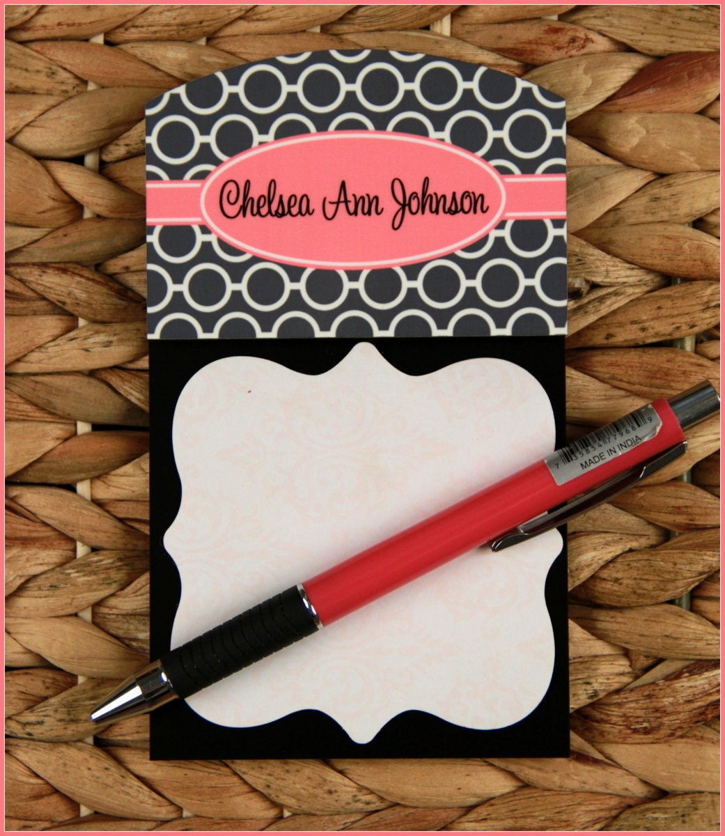 Personalized Sticky Note Holder Appreciation Gifts For