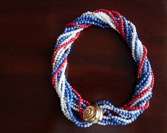 5 Strand Twist Necklace