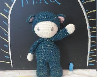 Muta the Bear (Crochet Pattern)