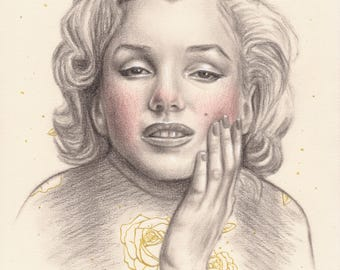 Marilyn- Original drawing