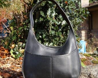 Coach Ergo Leather Crescent Hobo Bag