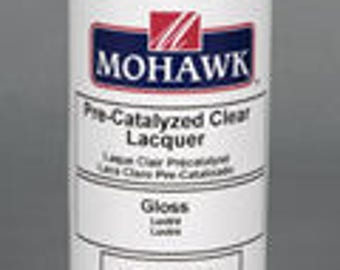 Pre-Catalyzed Clear Finish Flat