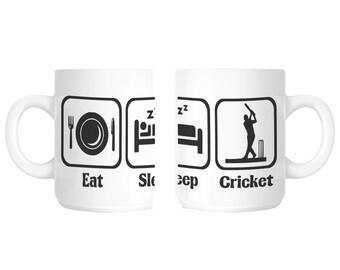 Cricketer Cricket Novelty Gift Mug SHAN86