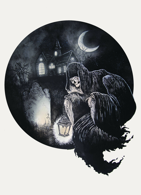 Grim Ghoul - Small Print