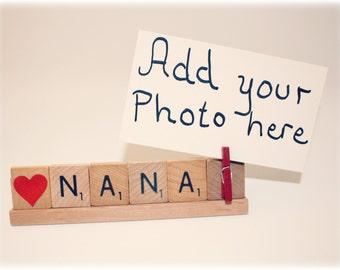 Nana Gift, Love Nana, Nana Photo, Nana frame, Mothers Day, Grammy Frame, Mom Gift, Grammy, Grammy Gift, Mimi, Photo Holder, Mom Frame, Gram