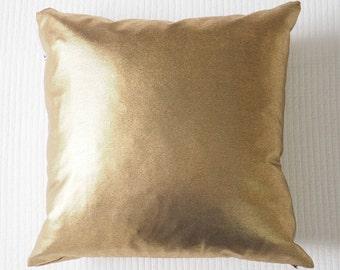 Cushion Cover  ||  Metallic Gold