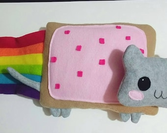 Nyan Cat Plush Pillow