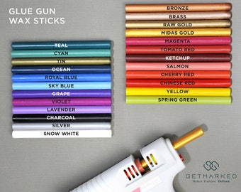 Glue Gun Sealing Wax Sticks - For Wax Seals (ZD0050)