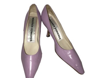 Warren Edwards Lavander Leather Pump