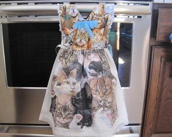 Cats Kitchen Towel Dress