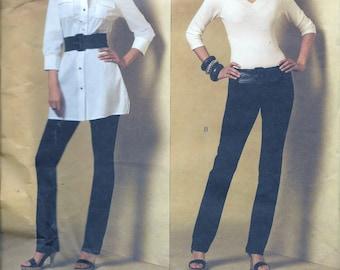 Vogue V2972 Alice + Olivia Tunic & Pants Sewing Pattern 2972 Size 4-6-8-10