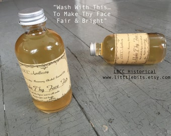 1719 -To Make The Face Fair Acne Wash Natural Anti-Aging