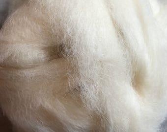 Soft and silky Suri alpaca roving