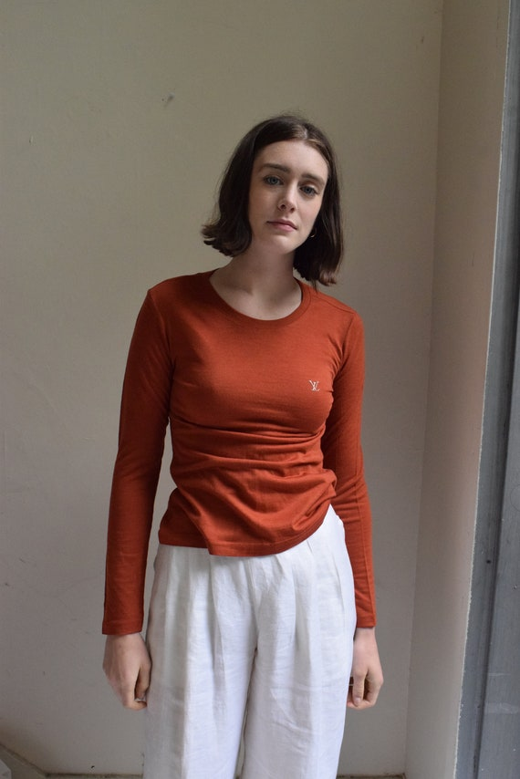 Terracotta Louis Vuitton Long Sleeve T-shirt