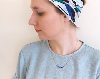 beads miyuki, dainty necklace, minimalist and serpentine chain necklace