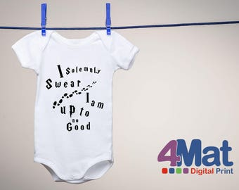 Babysuit, baby onesies, Baby Grow,  harry potter i solemnly swear