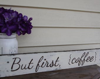 Coffee Wood Sign, coffee kitchen sign, coffee lover sign, coffee bar wood sign, rustic wood sign, kitchen decor, farmhouse decor