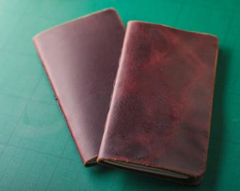 Hand-bound Leather Notebook