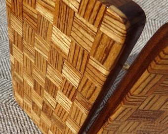 Fly Box Zebra Weave + Walnut 631-218